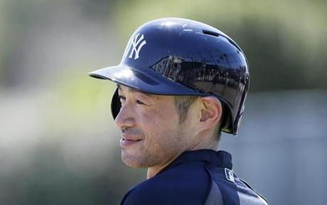 Ichiro Suzuki is not expected to embrace being a complementary player.